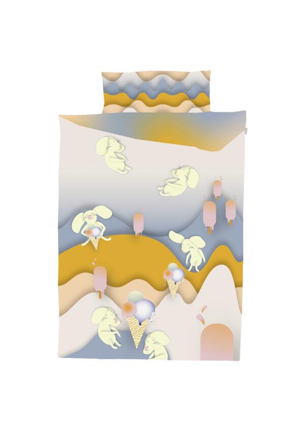 Voodipesukomplekt Hiired jäätisejahil
