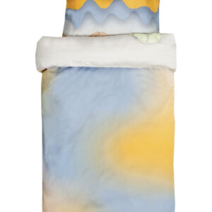 Väikelaste voodipesukomplekt Hiired jäätisejahil