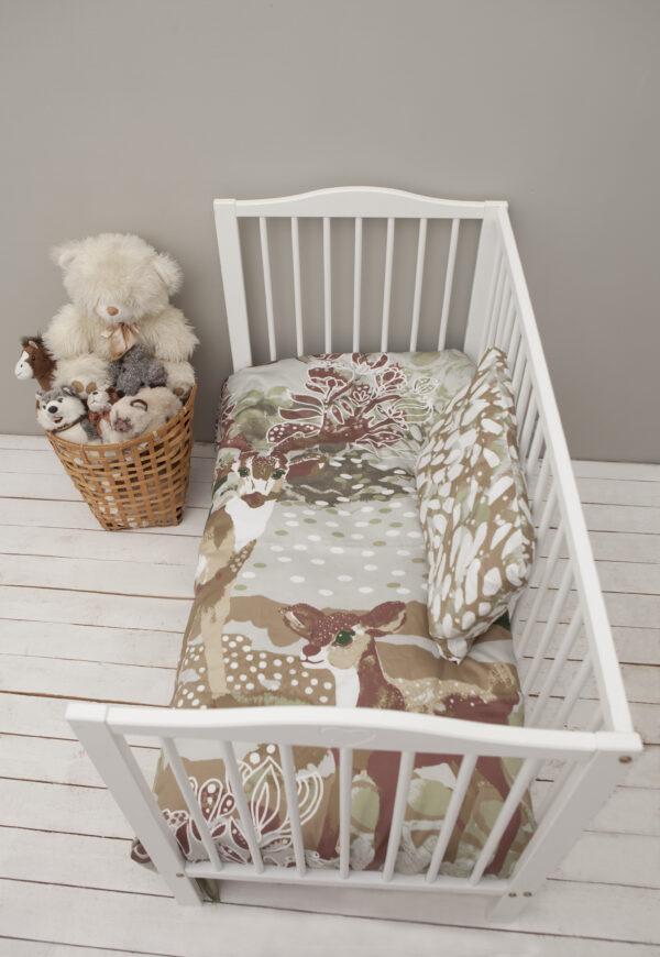 Väikelaste voodipesukomplekt Võlumets I